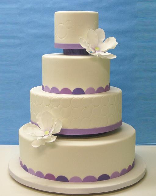 Circles Wedding Cake