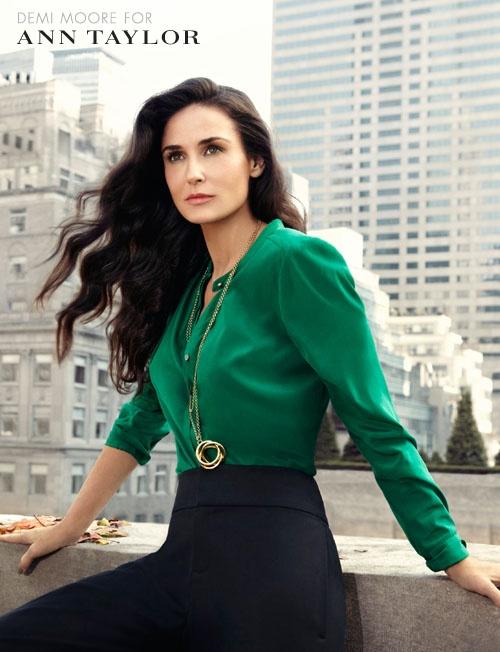 jade green blouse.