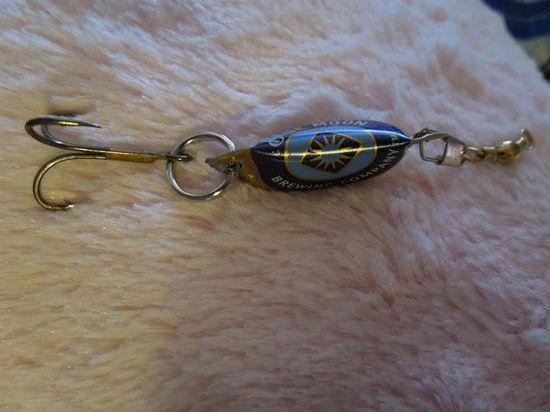Handmade Fishing Lures by TreasuresJewelryMore on Etsy