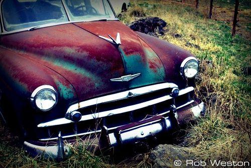Ruby Vintage Car