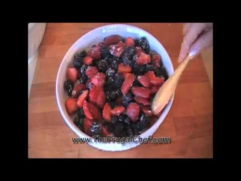 Triple Berry Crisp Recipe Cooking Videos