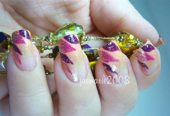 Fall In Love with Fall Nail Design - Nail Art Gallery by NAILS Magazine
