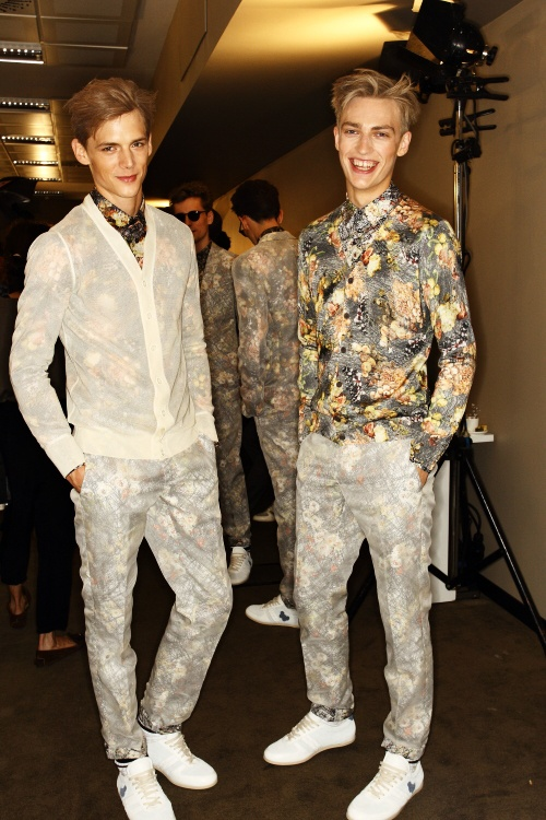 Bottega Veneta SS13 Men Fashion Show Milan Backstage