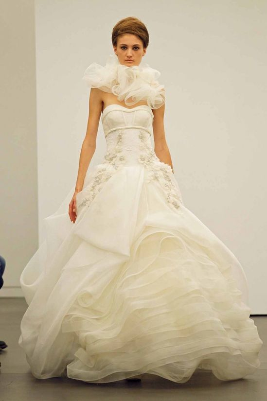Vera Wang 2013 Fall Bridal Collection , Bridal Collection, #fashion, #featured, #glamour, Vera Wang, #wedding dresses
