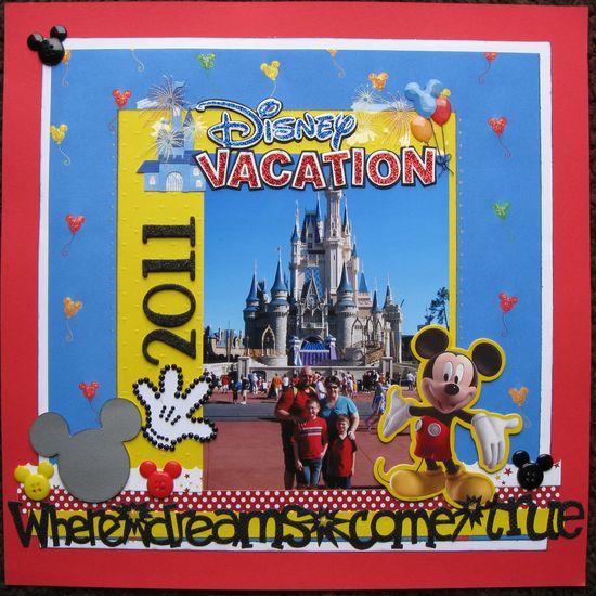 Great Disney embellishments - lots of them!