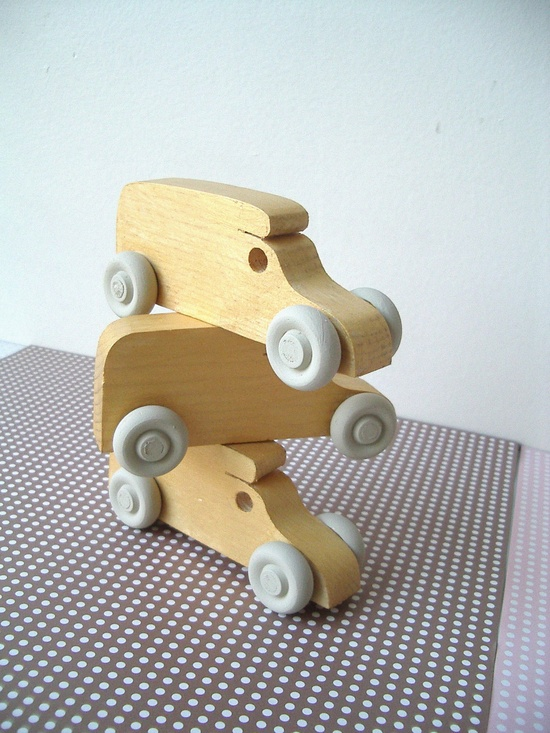 Kids Wooden Toy, Car / Waldorf. $8.00, via Etsy.