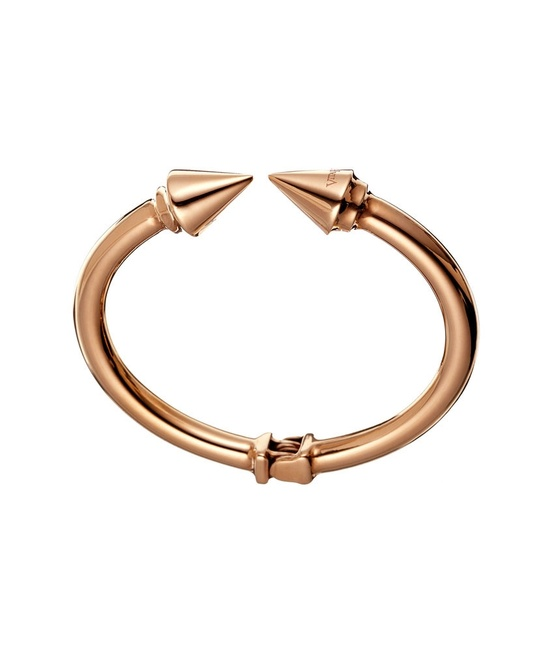 VITA FEDE Spike Bracelet in rose gold