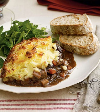 this is hands down the best shepherd's pie recipe. i've made it countless times for countless happy belly's