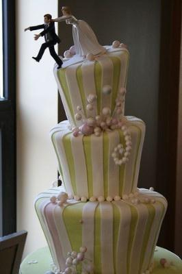 Indian Weddings Inspirations. Yellow wedding cake. Repinned by #indianweddingsmag indianweddingsmag...