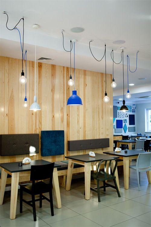 desire to inspire - desiretoinspire.net - A funky #restaurant #muuto #lights