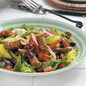 Beef Fajita Salad Recipe