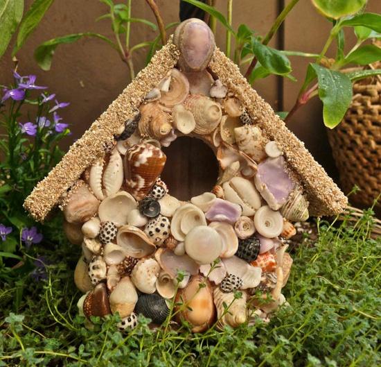 Hawaii Seashell Birdhouse