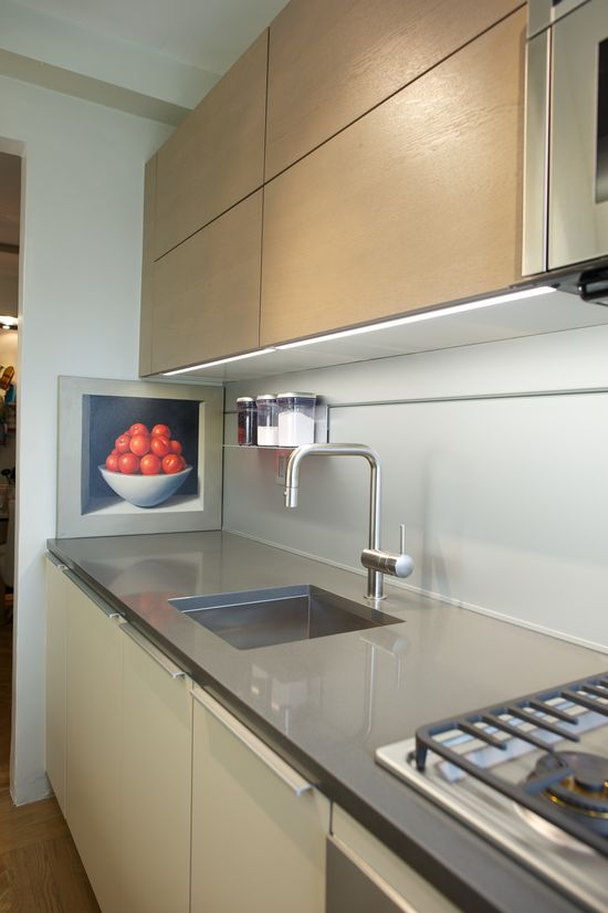#Poggenpohl #NewYorkCity #Modern #Kitchen #Design #InteriorDesign  Designer: Roger Zierman Photographer: David Vaughan