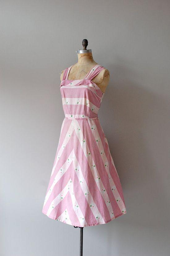 1950s Candy Floss sundress