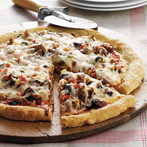 """""""The Works"""" Pizza 