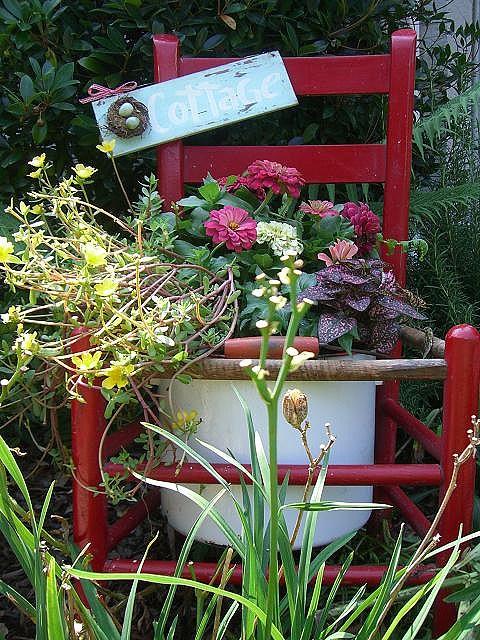 Garden cuteness