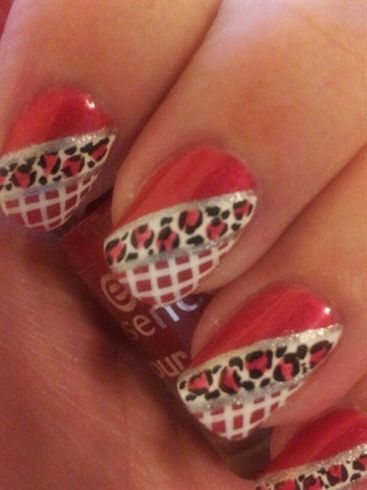 Laced Leopard - Nail Art Gallery by NAILS Magazine