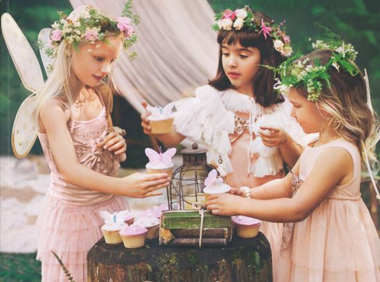 The Enchanted Wood: a party for fairies.