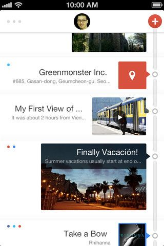 mobile ui navigation +50 examples