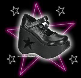 Dynamite Star Platform Shoes
