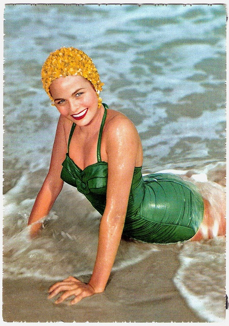 Every bit as lovely as a mermaid ~ 1950's