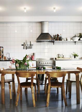 bright + airy kitchen