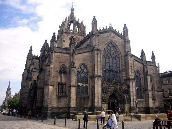 St. Giles Church, Edinburgh, Scotland