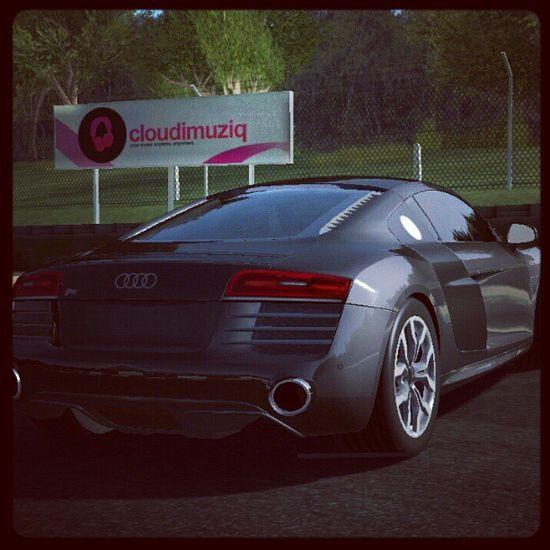 Audi R8 POW! thats a hot car!