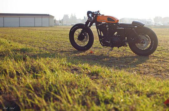 Harley Cafe Racer Motorbike Harley Café Racer