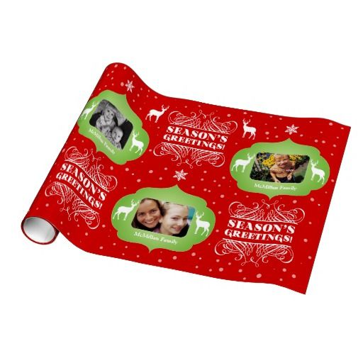 Photo Christmas Gift Wrappers