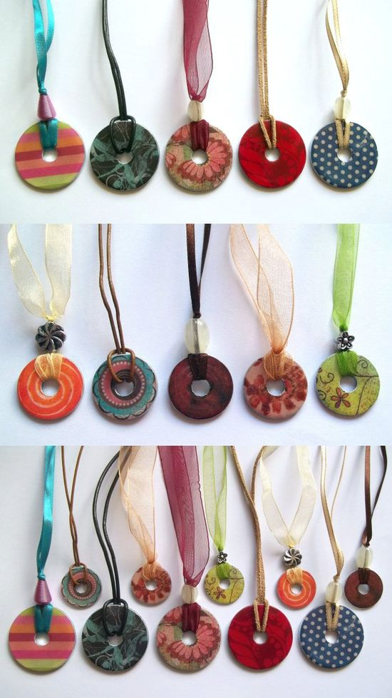 Things to make and do - Washer Necklace