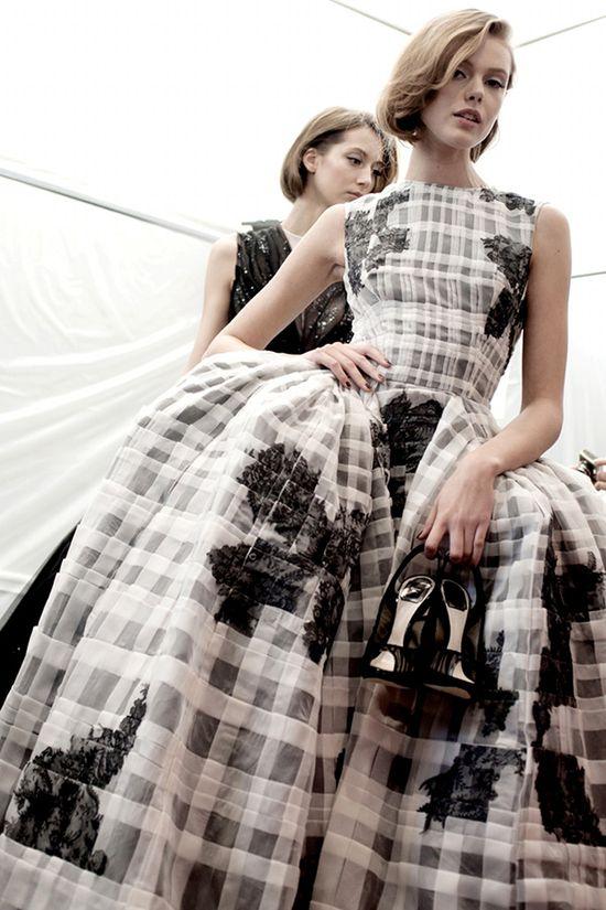 Dior show ...design by Bill Gaytten