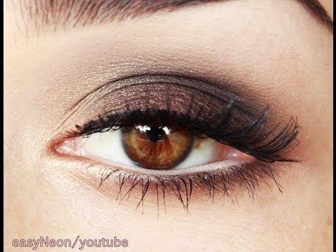 Easy Smoky Eyes makeup tutorial