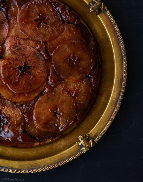 House of Brinson: Apple Cinnamon Upside Down Cake #recipe