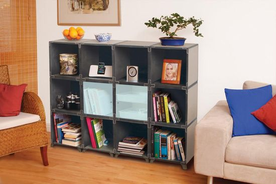 Turn storage into a stylish piece of furniture with the Yube Living Room Organizer