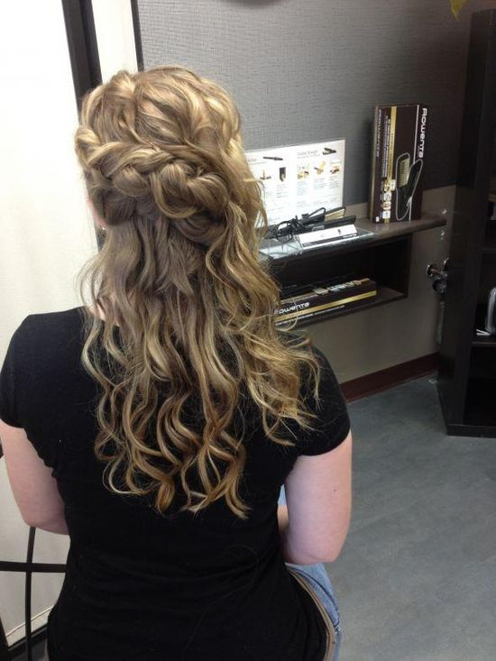 cute braid in back