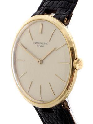Vintage Watches Patek Phillipe 18k Yellow Gold Wrist Watch (c. 1960s) @destinationmars