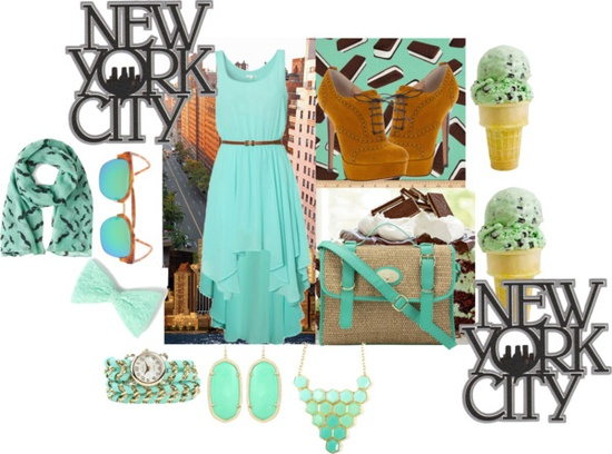 """minty fresh"" by keenadionisio ❤ liked on Polyvore"