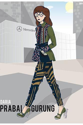 Your favorite childhood cartoon characters as grown-up fashion girls