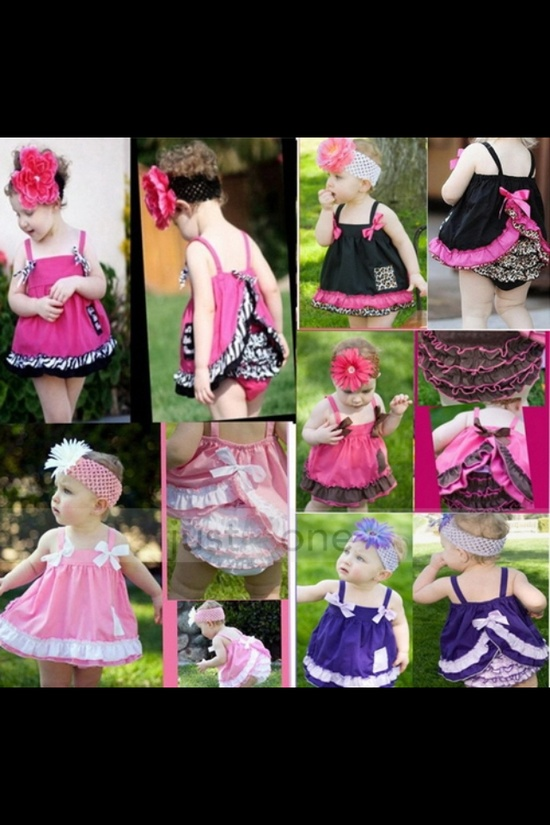 Cute baby outfits from EBay