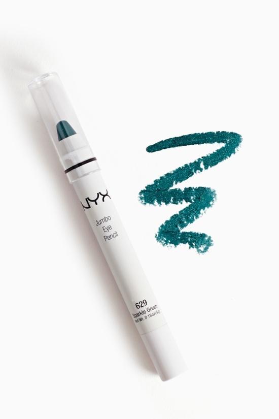 NYX Eye Pencil in Emerald Glitter