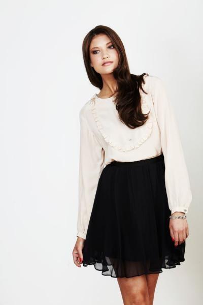 Moonstone Blouse / Lapis Skirt