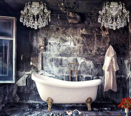 AMAZING bathroom (inspiration via YELTUOR) #bathroom #inspiration #interior