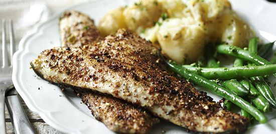 #SeaBass Green #Beans #Recipes #cooking