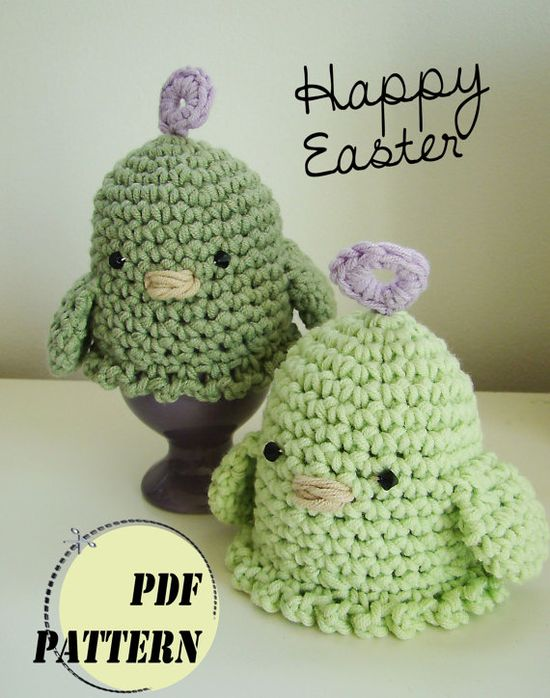 #crochet #amigurumi #easter #egg cosy #pattern #DIY