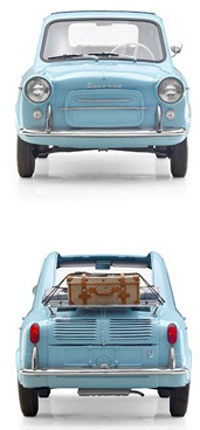 ? Adorable little car! (via Wit & Delight) / #mini #car #vintagei