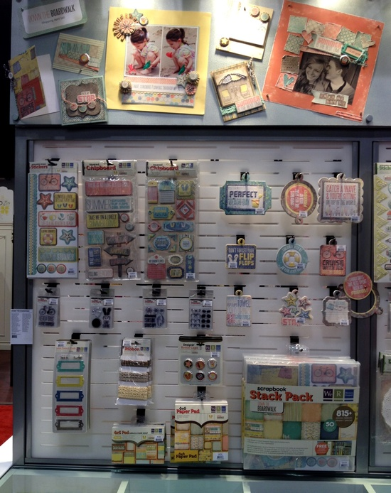 NEW We R Memory Keepers CHA - Down the Boardwalk Collection - Scrapbook.com
