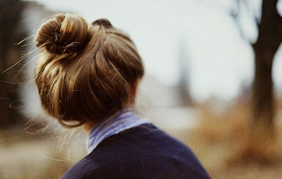 Top knot. Love