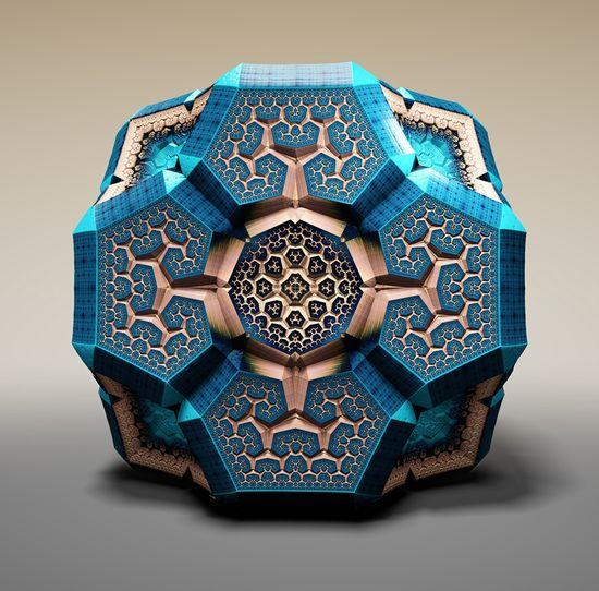 Tom Beddard 3D Faberge Fractuals