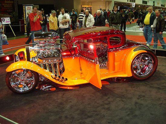1 Bad Ass Blown '33 Ford Hot Rod @ AutoRama Show